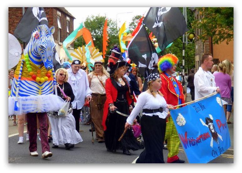 Colourful carnival