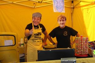 Del Boy and Rodney by Rachel Cliffe
