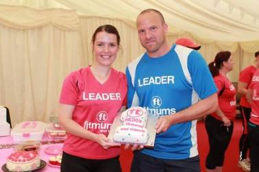 Fitmums Julie and Paul