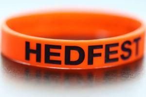 HedFest Wrist Band Orange 2