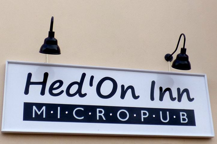Hed'on Inn Micropub sign