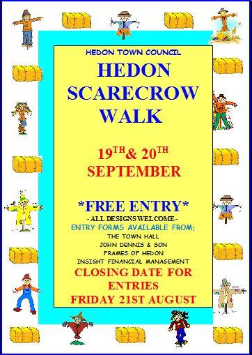 Hedon Scarecrow Walk 15 Poster