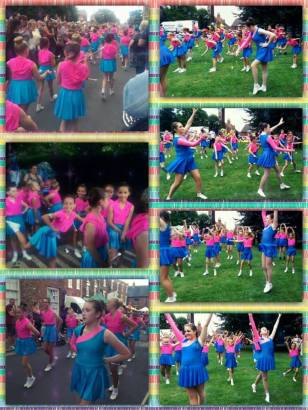 Hedon Twirlers at HedFest