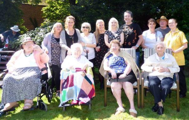 Holyrood House garden party