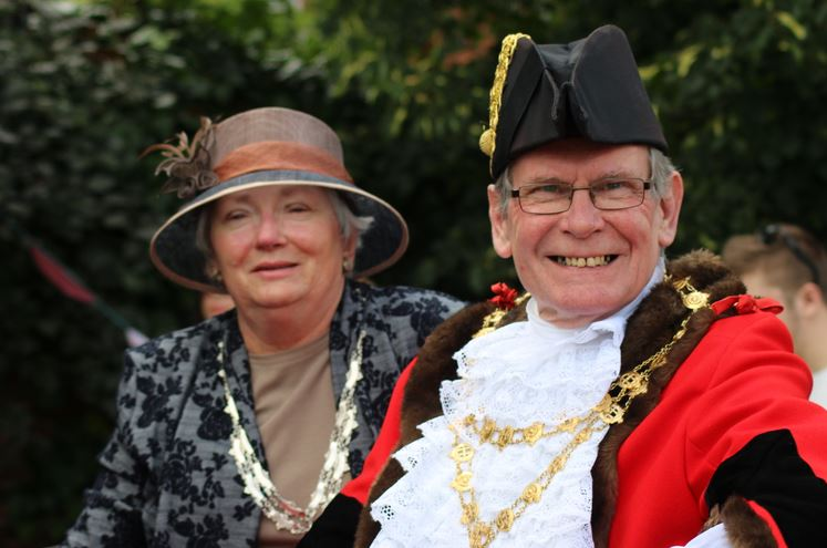 Mr and Mrs Hedon Mayor