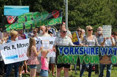 Protest at YW