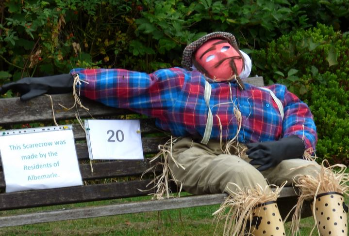 Scarecrow at Albermarle 14