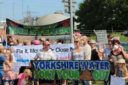 Stench protest