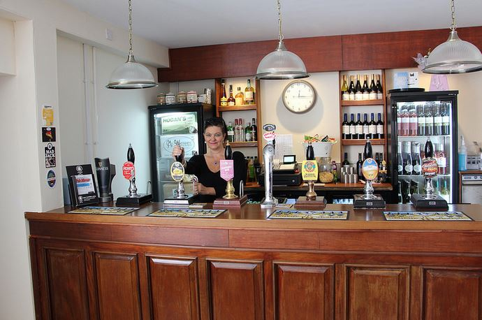 Sue at Micropub Hed'On Inn