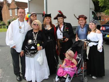 Hull Kingstown Pirates who have joined Withernsea Pirates by Rachel Cliffe