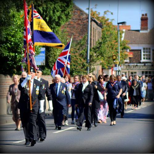 British Legion on the Parade