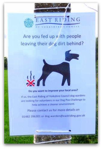 Dog Poo challenge posters