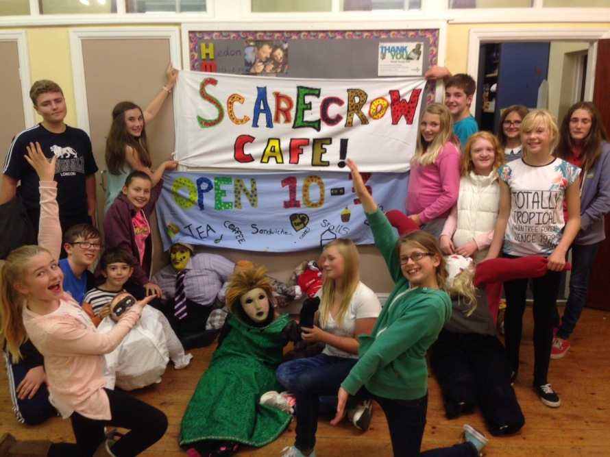 Scarecrow Cafe preparations