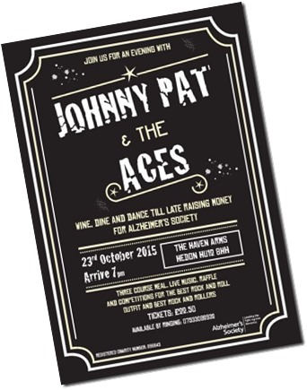 Johnny Pat and Aces poster