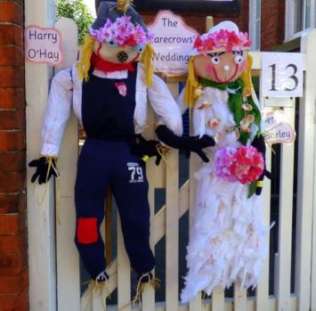 Wedding Scarecrow by Hedon Nursery School
