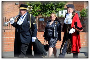 Sgt of the Mace, Assistant Town Clerk and Hedon Mayor
