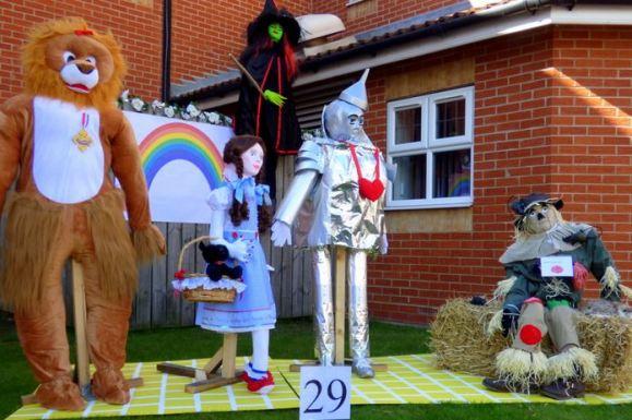 Wizard of Oz display