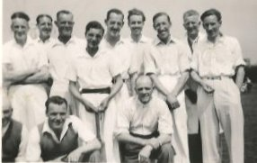 Cricket team 1946-47