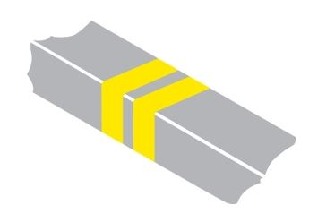 Double yellow bars