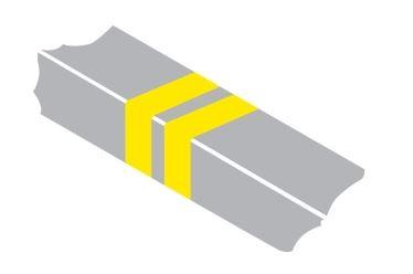 Double yellow bars