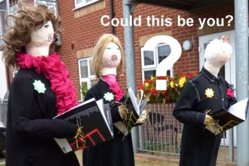 Holderness Grange Scarecrows - need singers