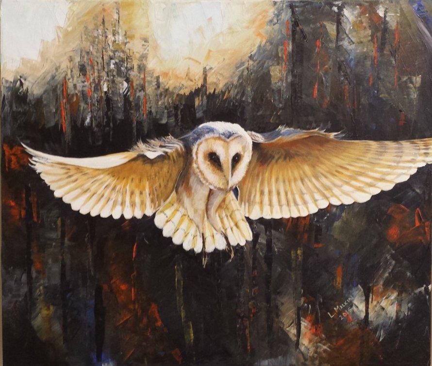 Larry Malkin Owl