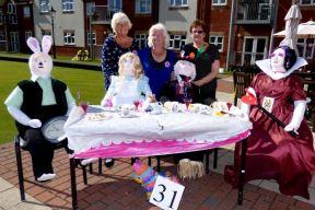 Pat Merritt (centre) with Jenny Burdett and Carol Danby