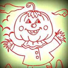 Scarecrow pumpkin head-001