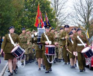 ACF Band leads Remembrance 2015