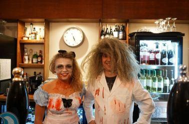 Chloe and Gareth Hed on Inn