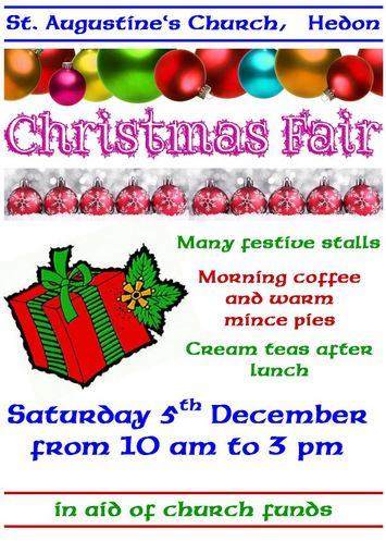 Christmas Fair 2015 poster