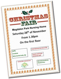 Christmas Fair Magdalen Park