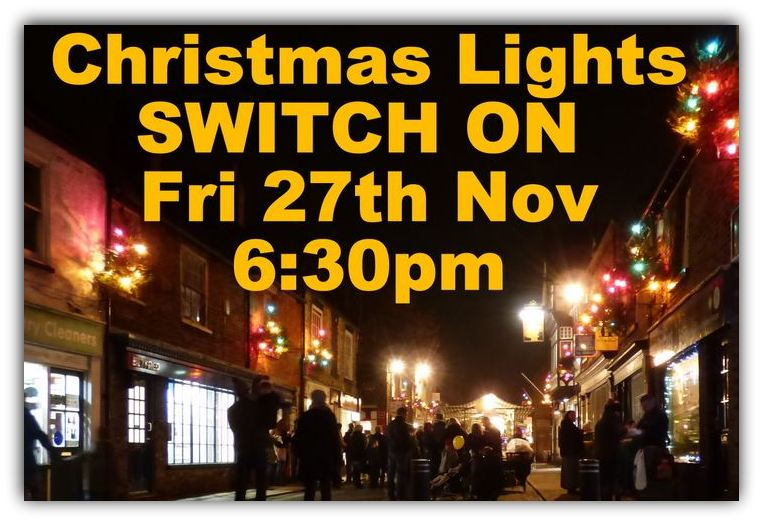 Christmas Lights Switch on 15