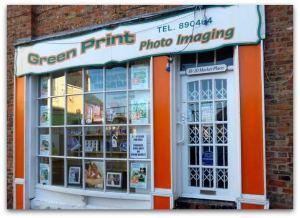 Green Print Hedon