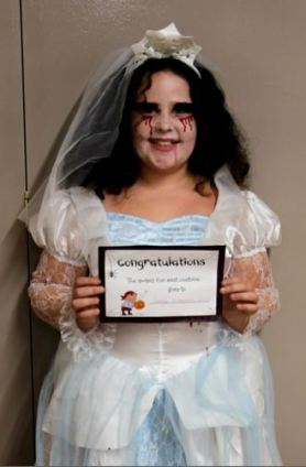 Halloween Bride Preston Community Hall