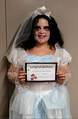 Halloween Bride Preston Community Hall