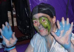 Halloween Slime Haven Gunge party