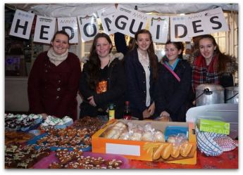 Hedon Guides stall