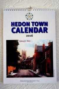 Hedon Town Calendar 2016 hung