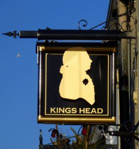 King's Head Sign