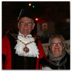 VIP Hedon Mayor and Mayoress