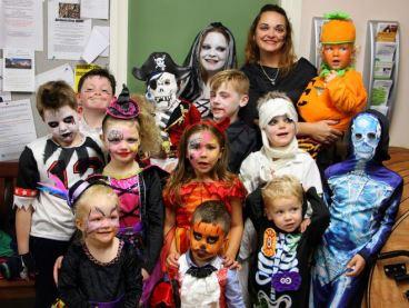 Preston Play Park residents Halloween Party
