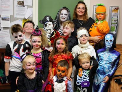 Preston Play Park residents Halloween Party
