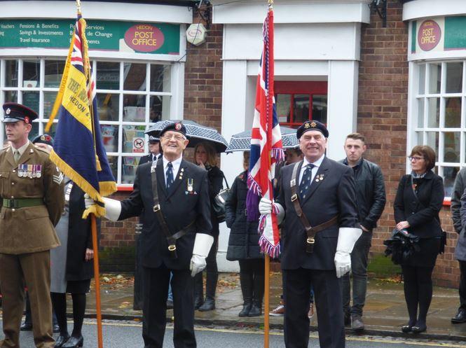 Royal British Legion colours