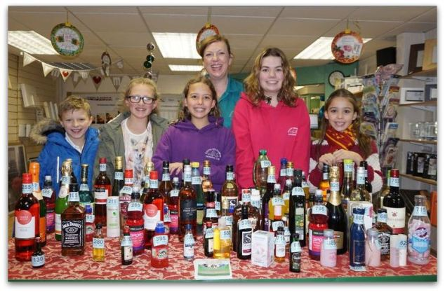 South Holderness Swimming Club Bottle Raffle at Hedon Green Print