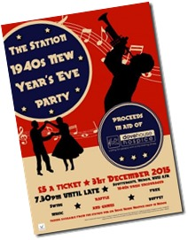 Station 1940's New Year Party