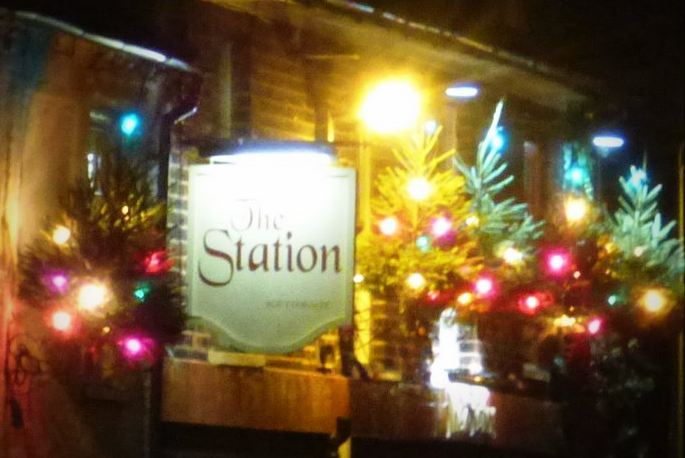 Station Christmas Lights