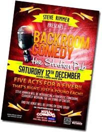 Backroom Comedy Dec 2015