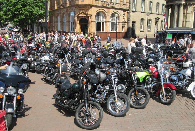 Bikers meet up Hull