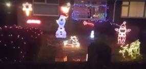 Christmas Lights New Road